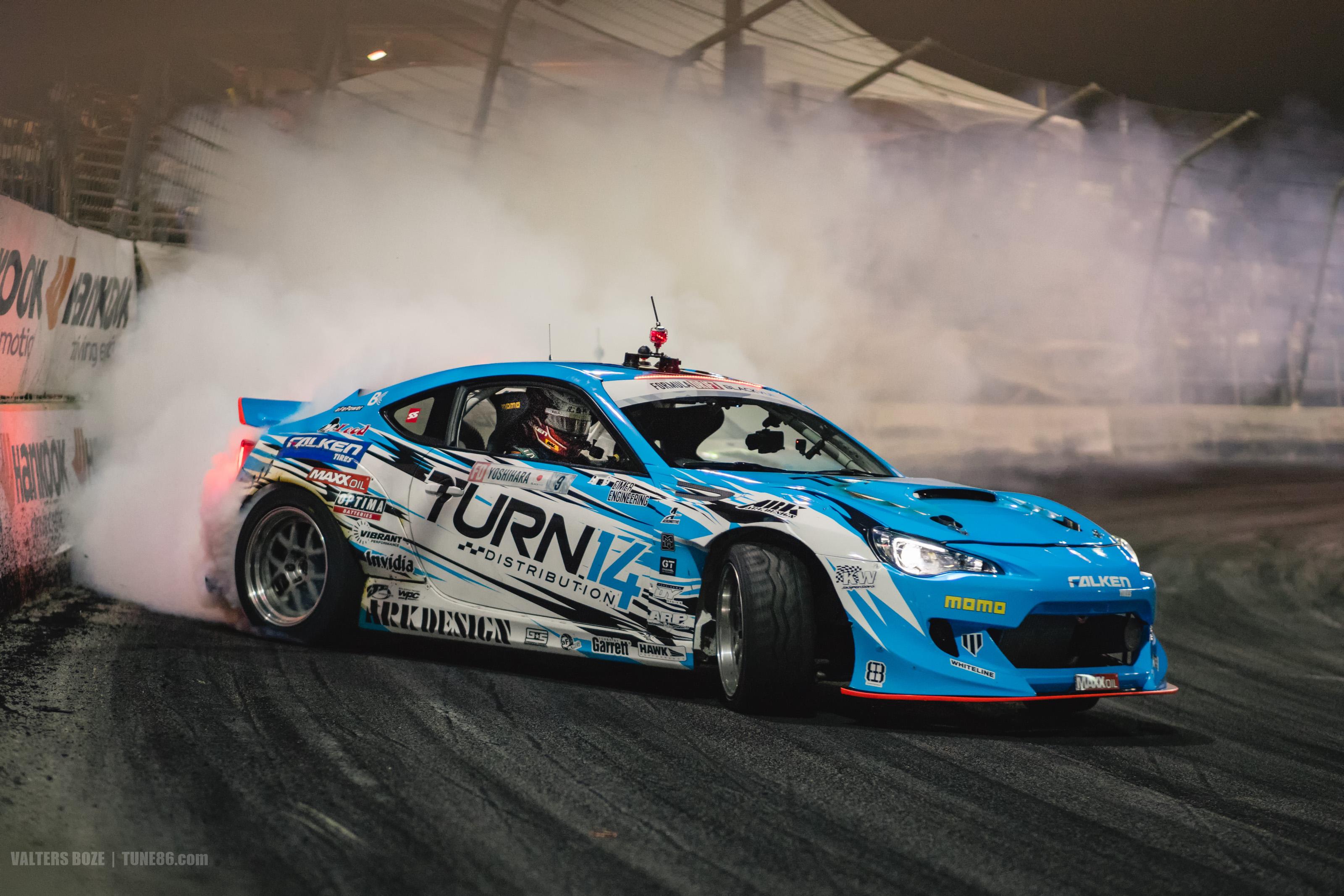 Tune86 Formula Drift Irwindale 2016 9 Dai Yoshihara Subaru Brz