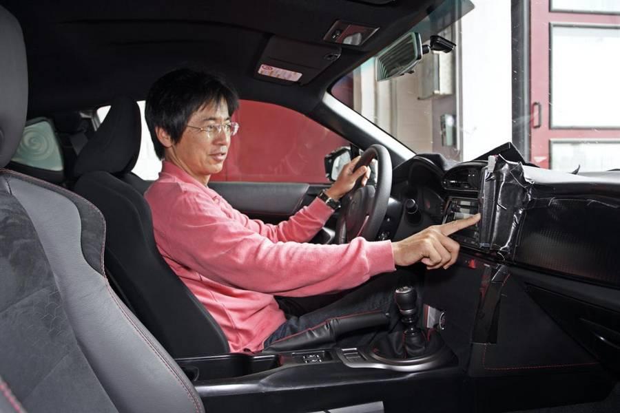 Tada Tetsuya testing Toyota 86