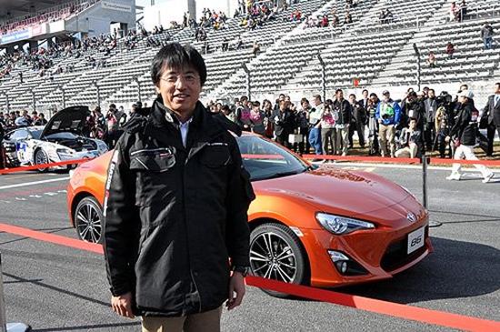 Tada Tetsuya at Toyota Gazoo Racing Festival, Toyota 86