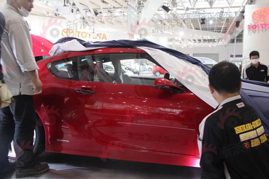 FT86 concept, auto china 2010, door
