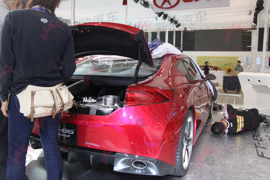FT86 concept, auto china 2010, rear trunk, FT86 fuel cell