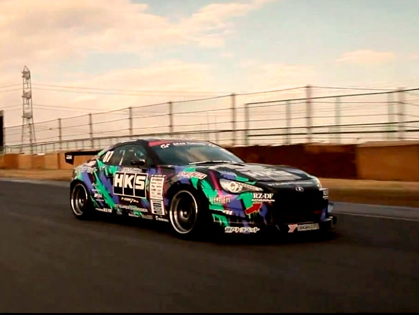 Taniguchi takes his D1GP spec 86 to Tsukuba Circuit to test new Yokohama AD08R tires