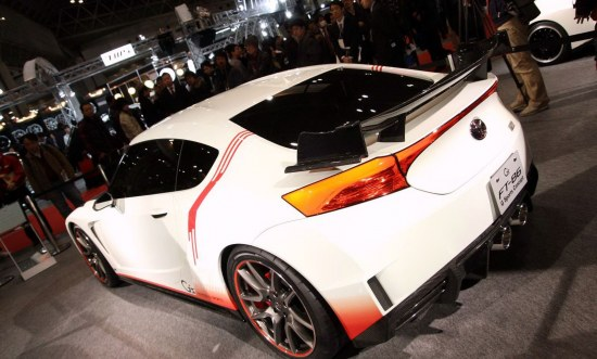 g sports, rear, white, carbon, spoiler, rear lights, lights, hatch, tokyo, event