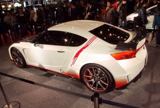Tokyo Auto Salon 2010, TAS 2010, FT-86 G sports concept edition, rear shot, rear lights, spoiler, sideshot