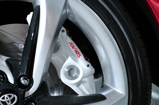 toyota ft-86 brakes - advics 4 pot calipers