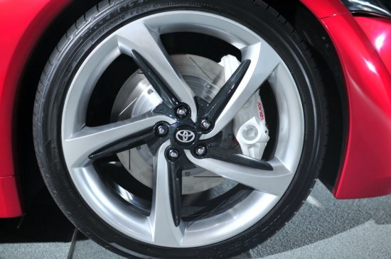 toyota ft-86 concept wheels