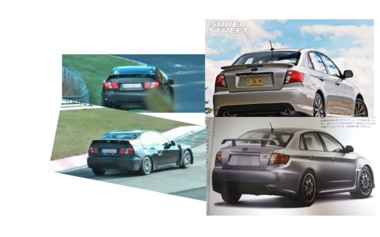 est car, subaru, nurburgring, 086a, toyota, ft-86, spy, shot, photo, masked, rear, exterior, compare, comparison, black, subaru wrx, impreza, wrx