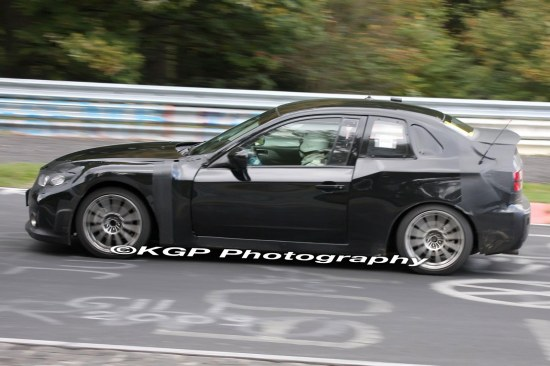 test car, subaru, nurburgring, 086a, toyota, ft-86, spy, shot, photo, black, masked, sideshot