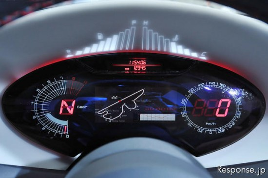 toyota ft86 concept, gauge cluster, dashboard, gps, map