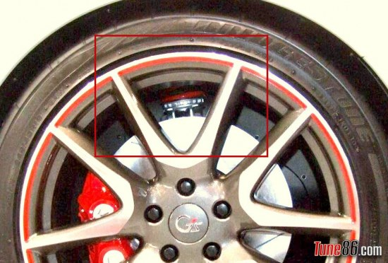 Toyota FT86 g sports concept, adjustable coilovers