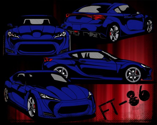 desktop background, toyota ft-86, ft86 wallpaper
