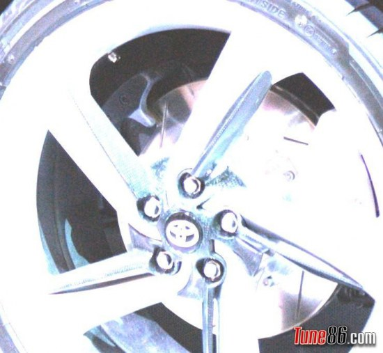 toyota ft-86 secondary caliper, handbrake, emergency brake, calipers
