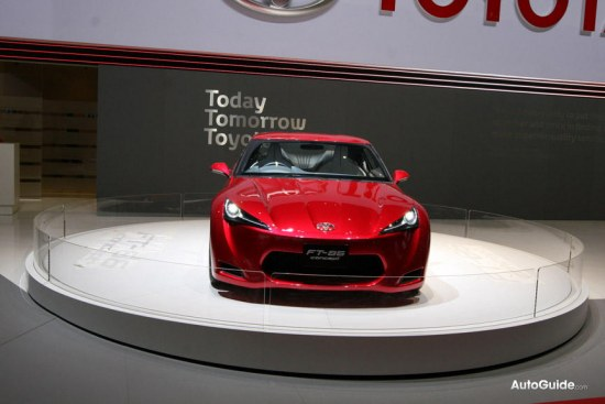 Toyota FT-86 concept at geneva auto salon 2010, front bumper photo pic