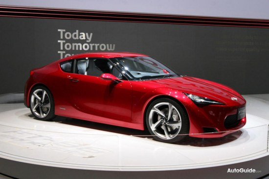 Toyota FT-86 concept at geneva auto salon 2010, FT86 portrait photo, FT-86 profile pic