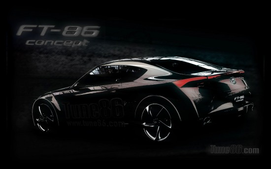 Toyota Ft-86 concept wallpaper, desktop background photo, pic, wallpapers image, ft86 wallpapers, 1680x1050 widescreen