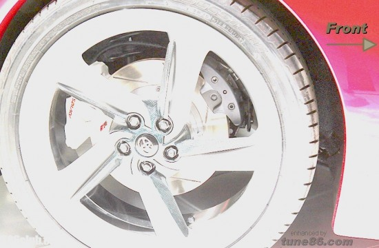 toyota ft-86, ft86 brakes, ft-86 handbrake, springs, rear wheel brakes, calipers