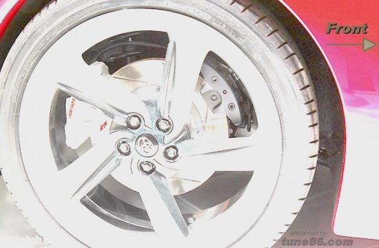 toyota ft-86, ft86 brakes, ft-86 handbrake, springs, rear wheel brakes, calipers