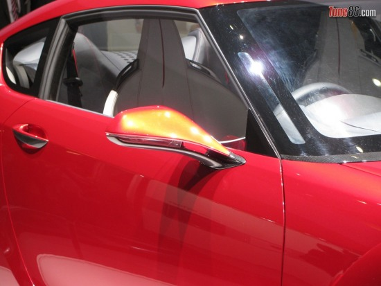 ft86 concept door - Toyota FT-86 concept door, mirror, pillar and window photo at Geneva Motor show 2010