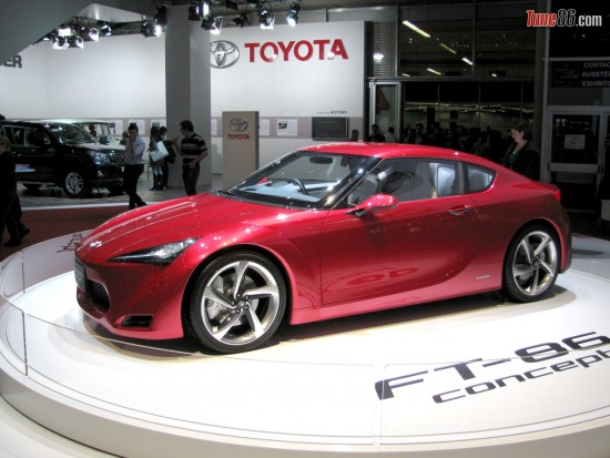 ft86 concept at geneva - Toyota FT86 concept at 2010 geneva motor show