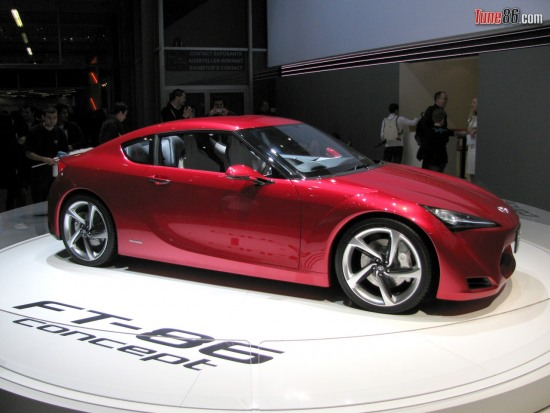FT-86 concept pic - Toyota FT-86 at Geneva Auto Show 2010, Toyota exhibition display