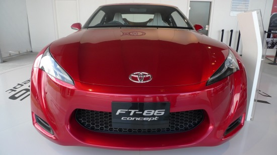 Goodwood 2010 2 - Toyota FT-86 concept at Goodwood Festival of speed 2010 front