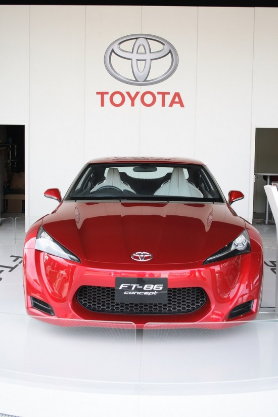 2010 Goodwood 3 - Toyota FT-86 concept at Goodwood Festival of speed 2010 front photo 3