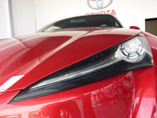 2010 Goodwood 7 - Headlight photo. Toyota FT-86 concept at Goodwood Festival of speed 2010