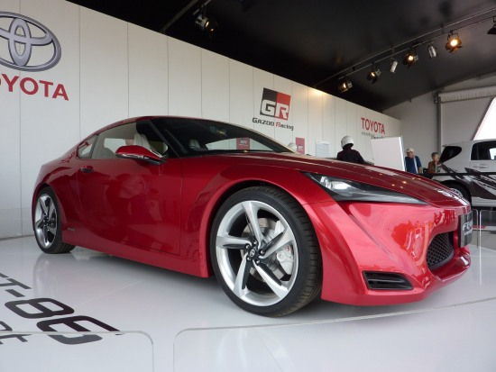 2010 Goodwood 8 - profile shot. Toyota FT-86 concept at Goodwood Festival of speed 2010