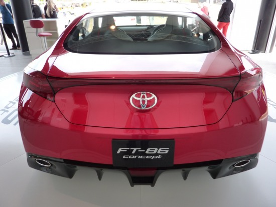 2010 Goodwood 9 - FT86 rear. Toyota FT-86 concept at Goodwood Festival of speed 2010