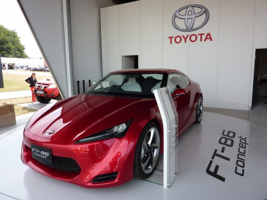 2010 Goodwood 10 - Toyota FT-86 concept at Goodwood Festival of speed 2010. photo 10