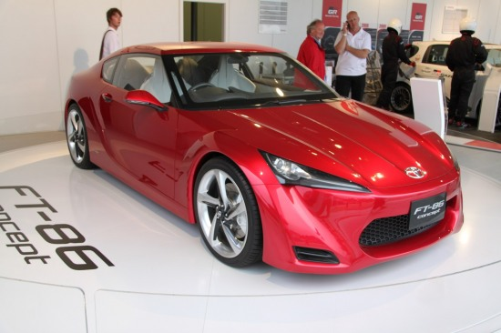 2010 Goodwood 11 - Toyota FT-86 concept at Goodwood Festival of speed 2010. photo
