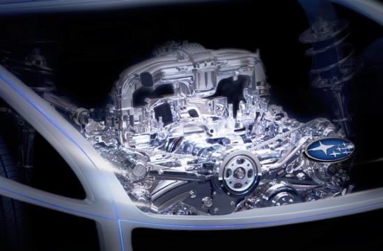 subaru rwd coupe boxer engine