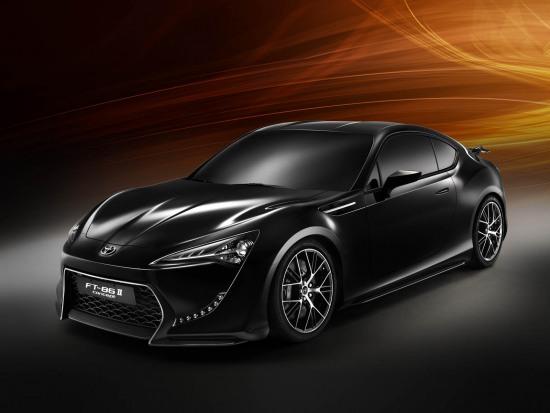 Toyota FT86II Concept official photos