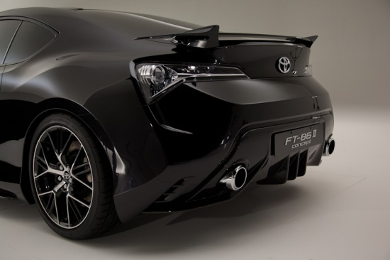 FT-86 II rear wing - Toyota FT-86 II Concept photoshoot at Brussels by Toyota UK. Rear bumper shot photo