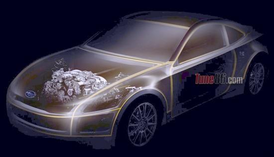 Subaru BRZ Prologue - Subaru BRZ Prologue - RWD coupe concept, Frankfurt 11 preview