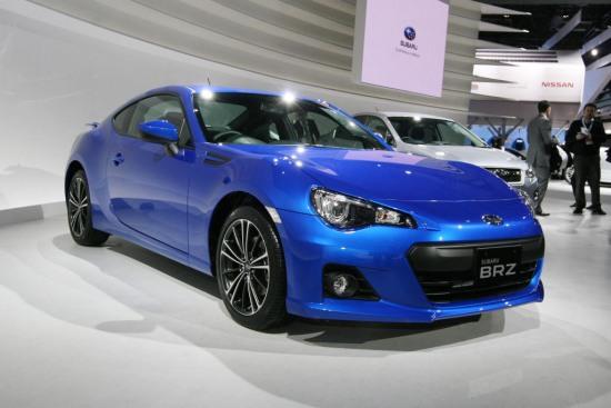 Subaru BRZ TMS2011 01 - Subaru BRZ TMS2011 01 photo