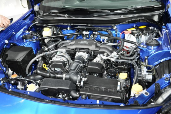 Subaru BRZ engine bay d4s motor - Subaru BRZ engine bay d4s motor photo