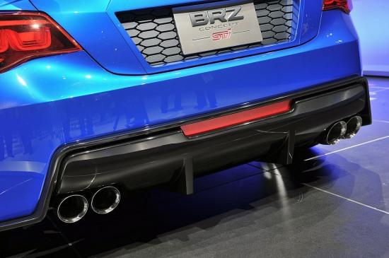 Subaru BRZ LA rear -
