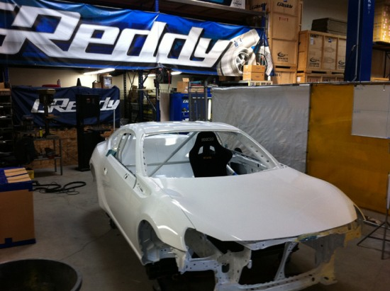 greddy racing scion frs build