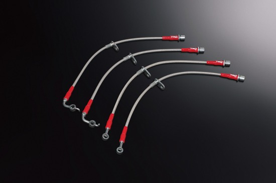 Photo: TRD braided hoses, brake lines, Trd Toyota 86 performance line upgrade part
