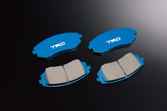 Photo: TRD brake pads for Toyota 86 TRD performance line