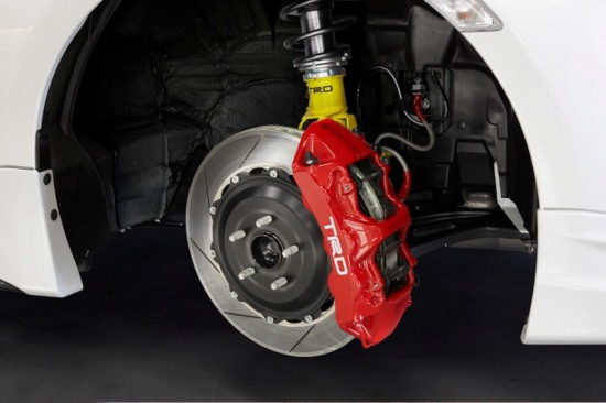 Toyota 86, TRD 86 performance line, big brake kit, 6pot calipers, 14in brake rotor, adjustable suspension coilover