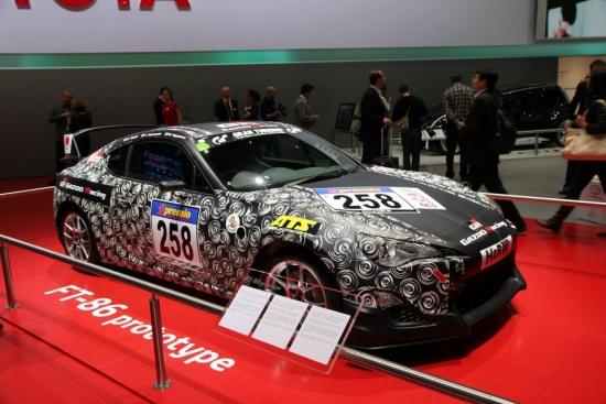 2012genevamotorshowtoyotagt86 12 gazoo racing - 2012genevamotorshowtoyotagt86 12 gazoo racing photo