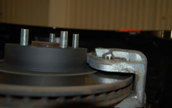 Scion FRS Measuring Session brake rotor 2 - Scion FRS Measuring Session brake rotor 2 photo