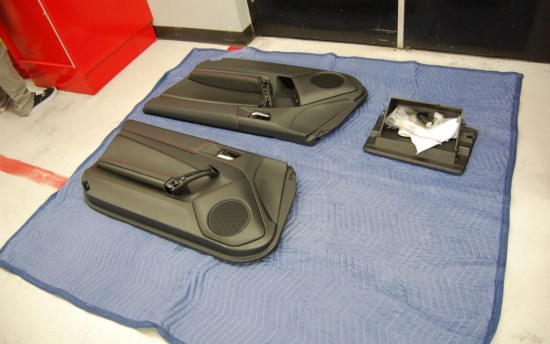 Scion FRS Measuring Session door panel speakers 1 - Scion FRS Measuring Session door panel speakers 1 photo