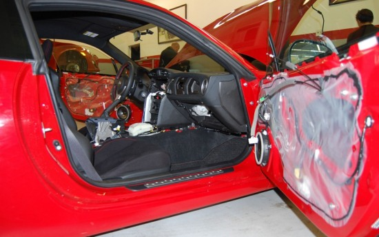 Scion FRS Measuring Session door panel speakers 2 - Scion FRS Measuring Session door panel speakers 2 photo
