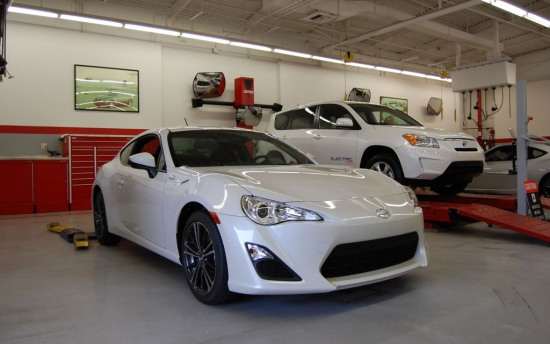 Scion FRS Measuring Session front three quarter 1 - Scion FRS Measuring Session front three quarter 1 photo