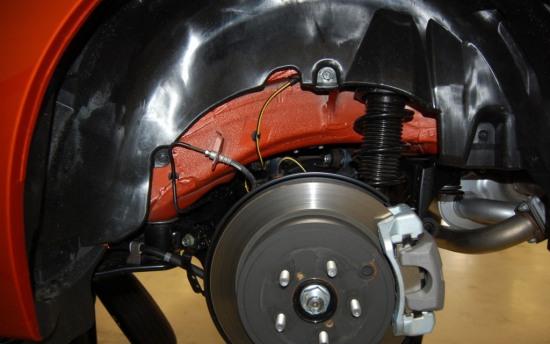 Scion FRS Measuring Session rear suspension 1 - Scion FRS Measuring Session rear suspension 1 photo