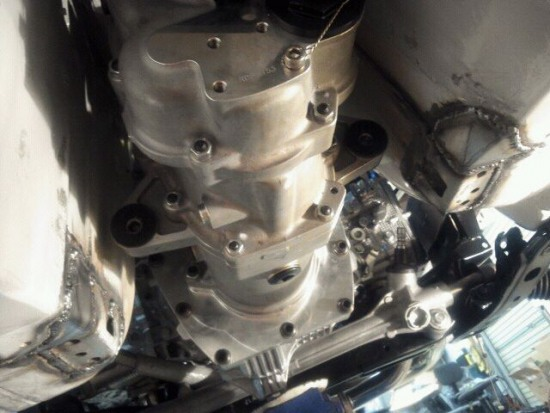 Gollinger 6-speed sequential transmission for Tetsuya Hibino's d1gp toyota 86