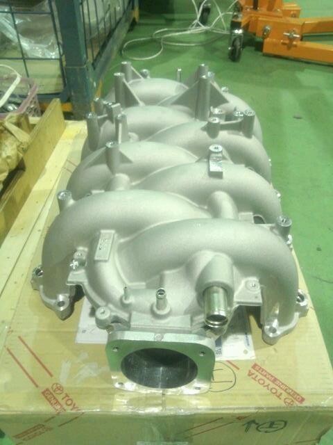 orido manabu toyota 86 v8  intake manifold v8 engine - orido manabu toyota 86 v8  intake manifold v8 engine photo